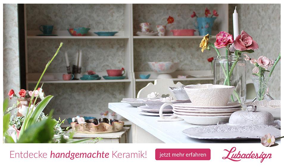 Teetassen, Teekannen und andere Keramikprodukte im Online-Shop