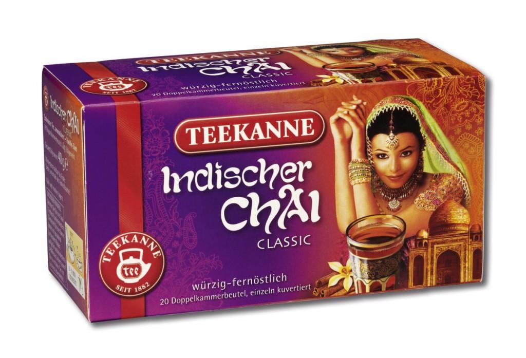 Teekanne Chai-Tee im 6er Pack mit insgesamt 120 Beuteln Tee