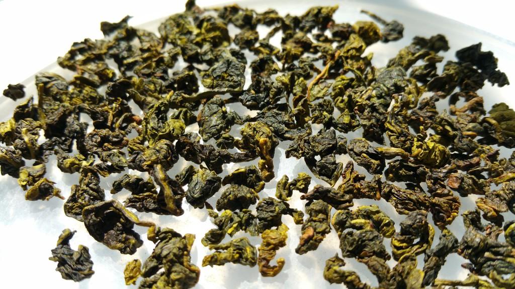 Getrockneter Oolong Tee - ganze Blätter