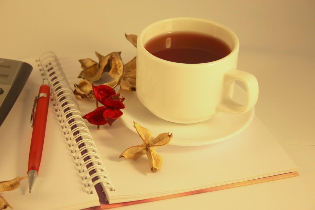Kräutertee in einer Teetasse