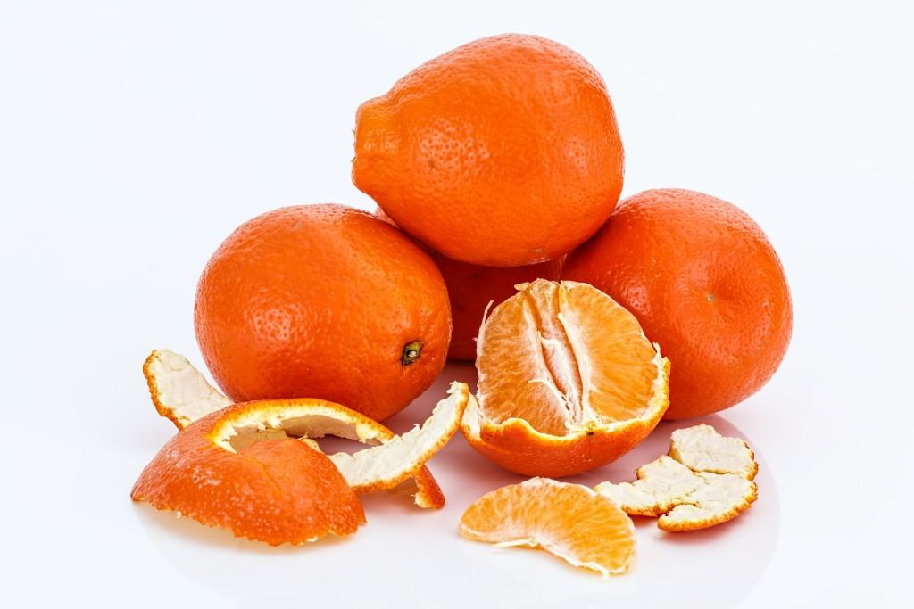 Orangenschalen - Inhaltststoff für türkischen Apfeltee